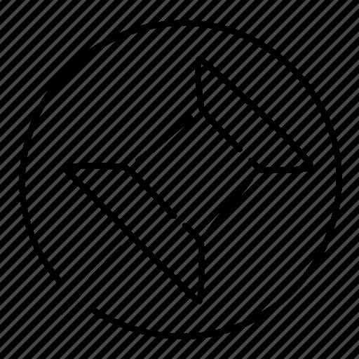 pin, point, pointer icon
