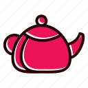 food, hungry, tableware, teapot icon
