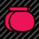 food, hungry, jars, tableware icon