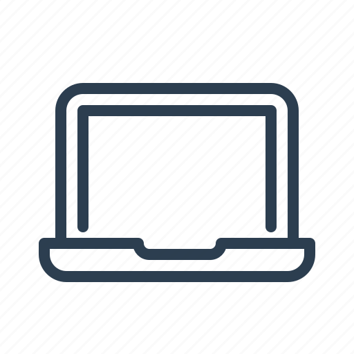 Computer, laptop, notebook, device icon