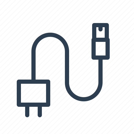 Cable, charger, connector, plug, usb icon - Download on Iconfinder