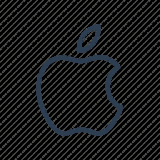 apple, brand, company, mac, platform, system, technology icon