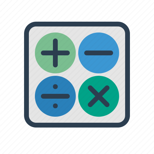 accountant, accounting, calc, calculate, calculation, calculator, math icon