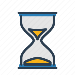 hourglass, loading, productivity, schedule, time, time management, watch icon