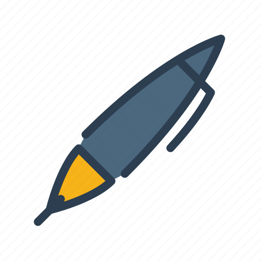 instrument, log, office, pen, supplies, write, writing icon