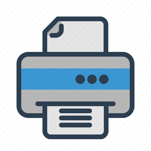copier, device, document, office, print, printer, printing icon