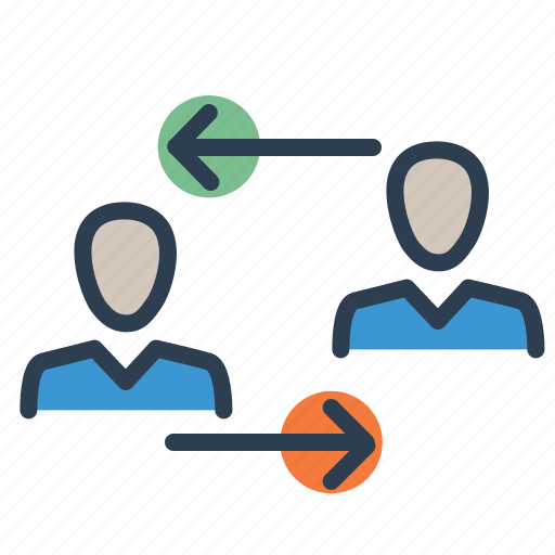 business relations, collaboration, partnership, service agreement icon