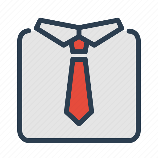 office, professional, respect, tie icon