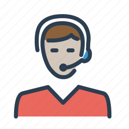 avatar, consultant, help, human, man, support, technical assistant icon