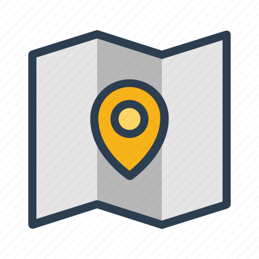 coordinate, location, map, navigation, pin, place, position icon