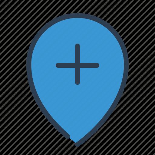 add, edit, location, maker, map, pin, plus icon