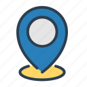 pin, location, marker, pointer