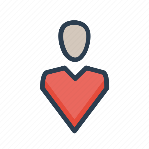 Human resources, location, man, pin, vacancy icon