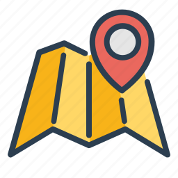 direction, location, map, marker, navigation, pin, pointer icon