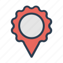 location, marker, pin, pointer icon