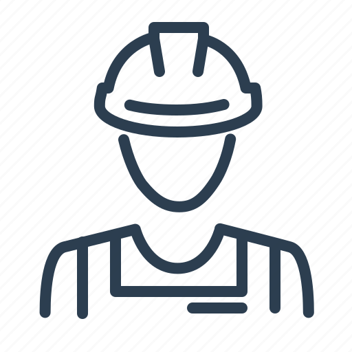 builder, construction, constructor, helmet, labour, repair, worker icon