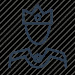 avatar, boss, crown, king, man, monarch, tsar icon