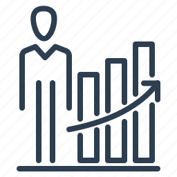 career, carier, employee, growth, job, ladder, work icon