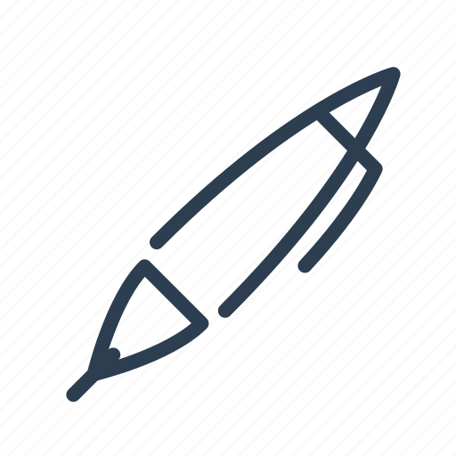 blog, instrument, office, pen, supplies, write, writing icon