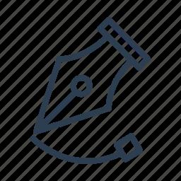 curve, design, draw, graphic, line creation, pen tool, spline icon
