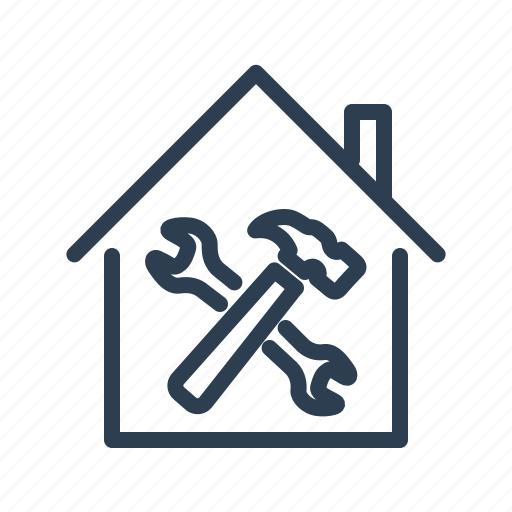 apartment, construction, home repair, house, property, real estate, renovation icon