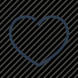 award, bookmark, favorite, heart, like, love, valentine's icon