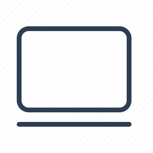 computer, desktop, device, laptop, monitor, screen, technology icon