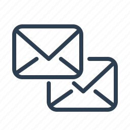 communication, connection, envelopes, letters, mail, messages, talk icon
