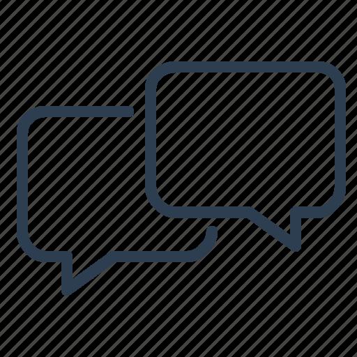 chat, comments, communication, connection, message bubbles, messages, talk icon