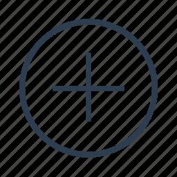 add, circled, copy, create, edit, new, plus icon