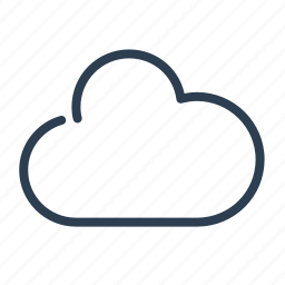 cloud, cloudy, network, share, sharing, storage, upload icon