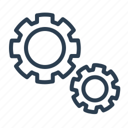 configuration, control, gear, machine, options, preferences, settings icon