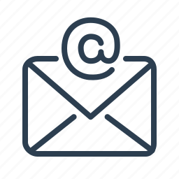 envelope, letter, mail, message, send, spam, subscribe icon