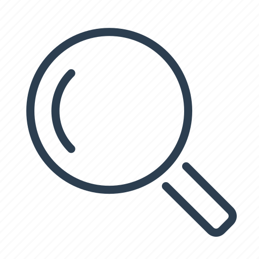 explore, find, look, loupe, magnifier, magnifying, search icon