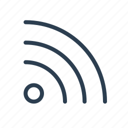 connection, internet, rss, signal, subsribe, wifi, wireless icon