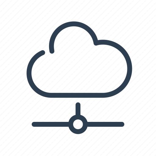 cloud, cloud storage, computing, database, server, sharing, storage icon