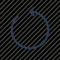 arrow, refresh, reload, renew, rotate, sync, synchronize icon