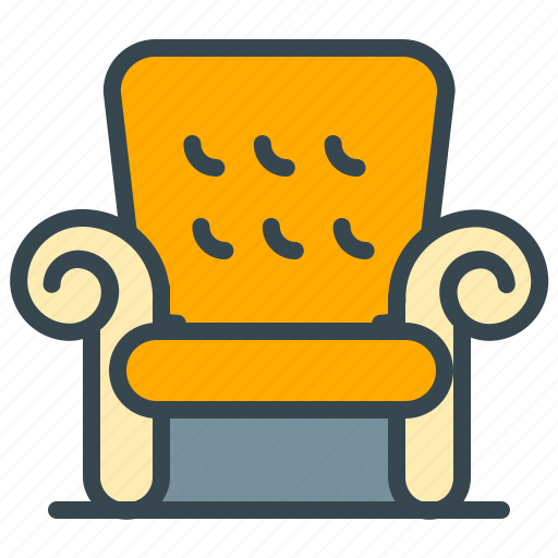 abroad, chair, couch, furniture, home icon