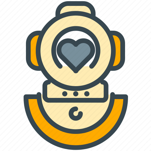 abroad, activity, diving, hobby, mask, suit icon