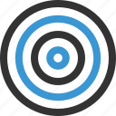abstract, center, design, goal, shape, target icon
