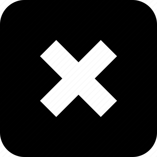 abstract, cross, sign, x icon