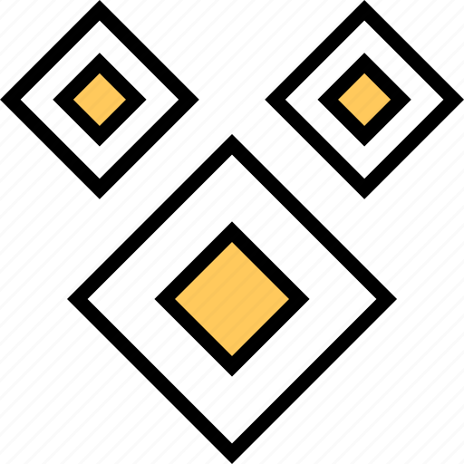 abstract, creative, cubes icon