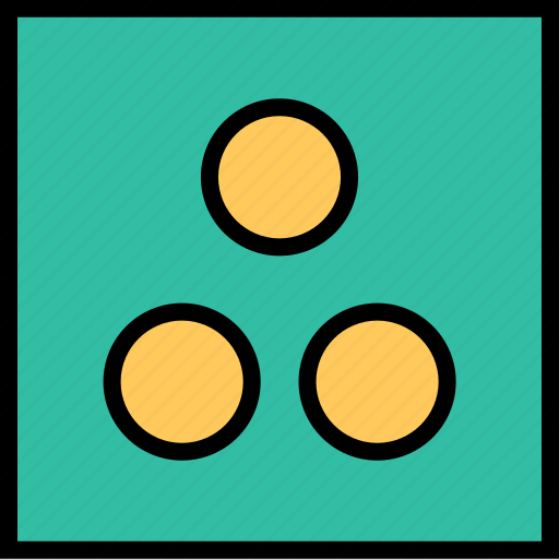 abstract, creative, dots icon