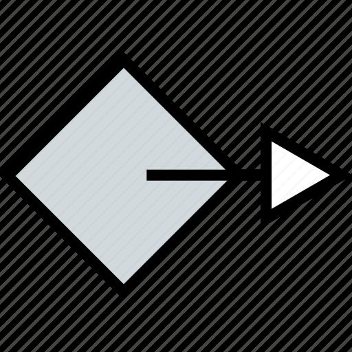 abstract, design, go, next icon