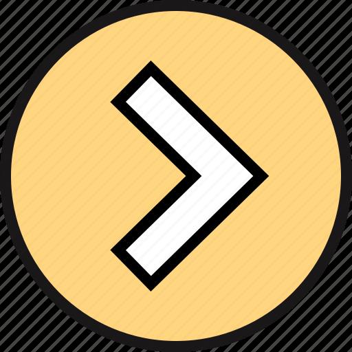 direction, go, pointer icon