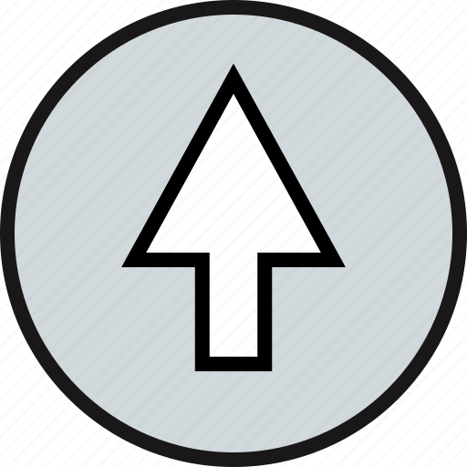 direction, high, pointer, up icon