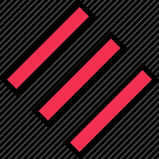 abstract, design, edge, sharp icon