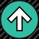 arrow, high, point, up