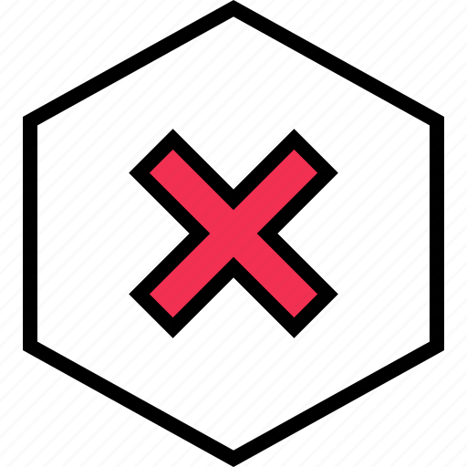 abstract, creative, hex, x icon