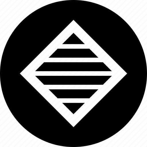 abstract, center, creative, lines icon